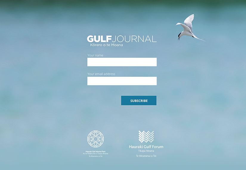 Gulf Journal holding page